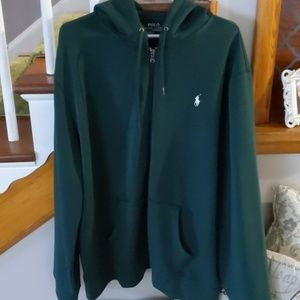 Polo Ralph Lauren performance full zip hoodie